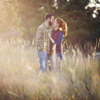 Engagement Photos in Poudre Canyon