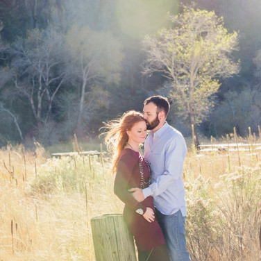 Sun-drenched Engagement Photos