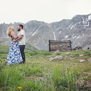 Engagement Photography at Mayflower Gulch in Frisco, Colorado