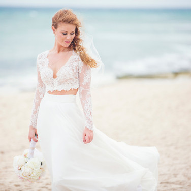 Destination Wedding beach photos