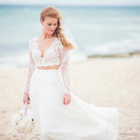 Destination Wedding beach photos