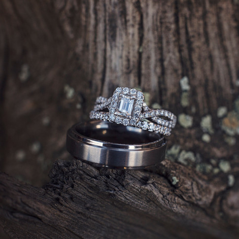 Mountain wood ring shot