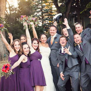 Wedding Party at Tapestry House