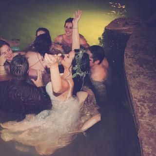 Destination wedding in Colorado Hotsprings