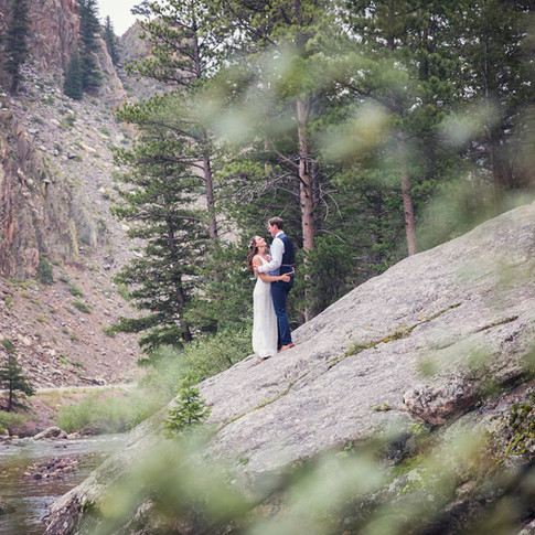 Poudre Canyon Intimate Wedding