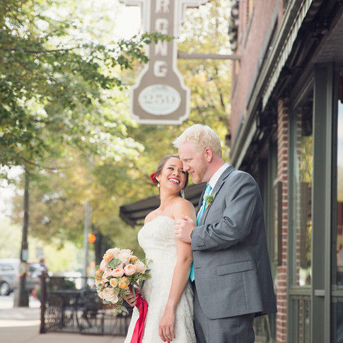 Old Town Fort Collins Wedding