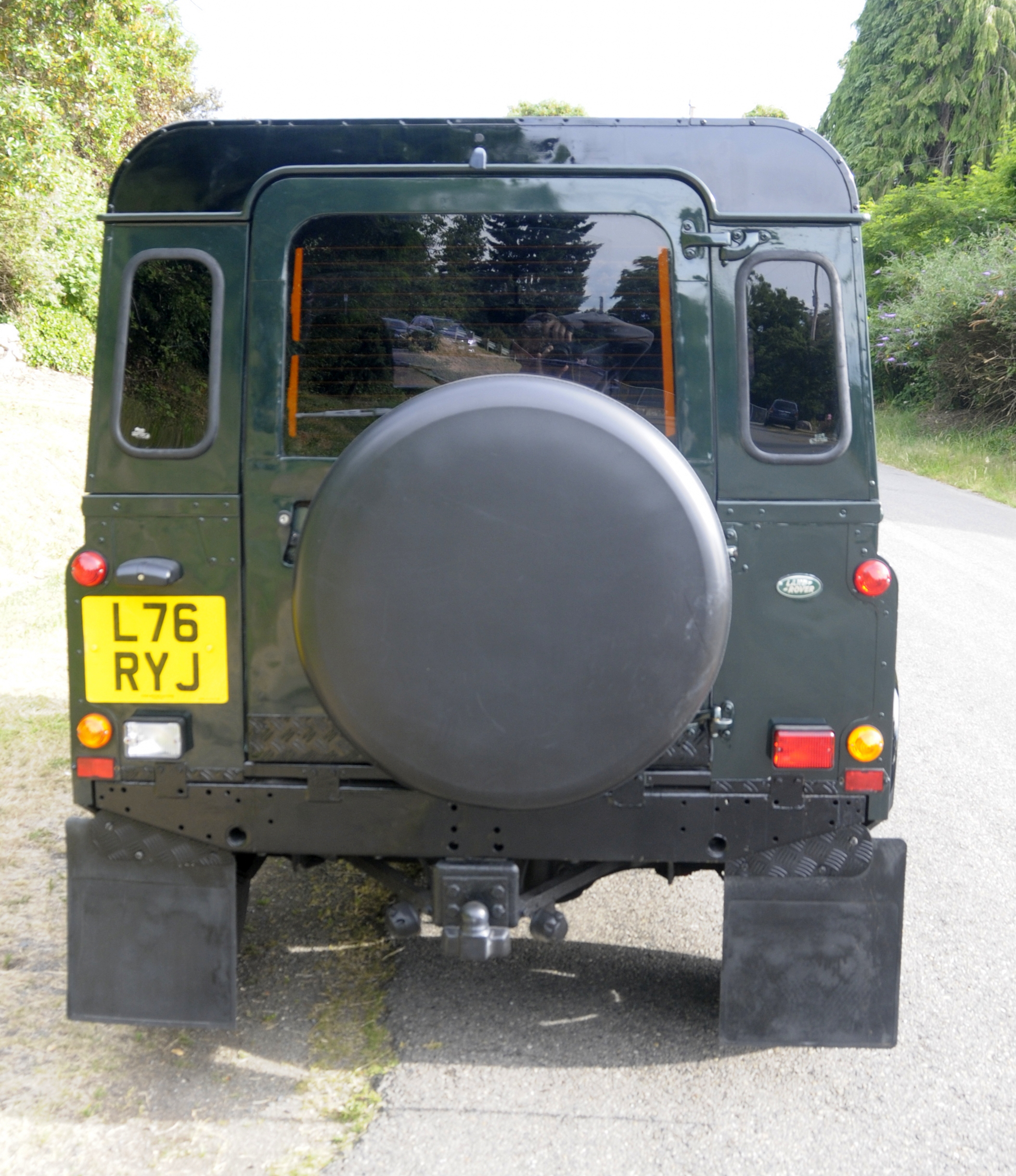 Dark Green 1994 Defender 90 (4)