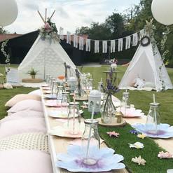 Bespoke Fairy garden picnic