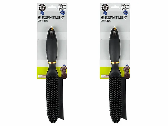 SILICONE GROOMING BRUSH
