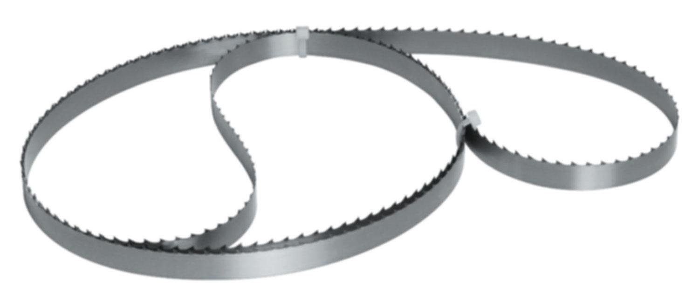 Bandsägeblätter | Bandsägebänder | Edge Convex Wellenschliff | Edge Scallop Wellenschliff | Edge Straight Bandmesser | Edge ESB Jet Premium gehärtet | Edge Premium gehärtet