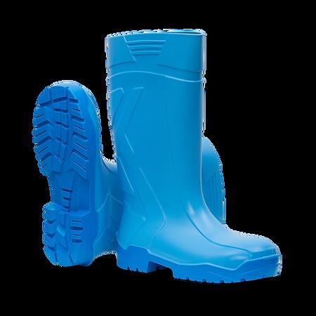 aproTex® PU-Stiefel safety Premium-Sicherheits-PU-Stiefel für den professionellen Einsatz in der Lebensmittelwirtschaft nach EN ISO 20345, S4, CI, SRC.