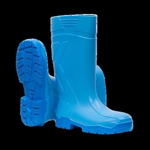aproTex® PU-Stiefelsafety BLAU