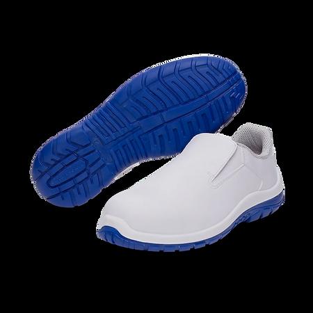 weisse Sicherheitsschuhe, white safety shoes