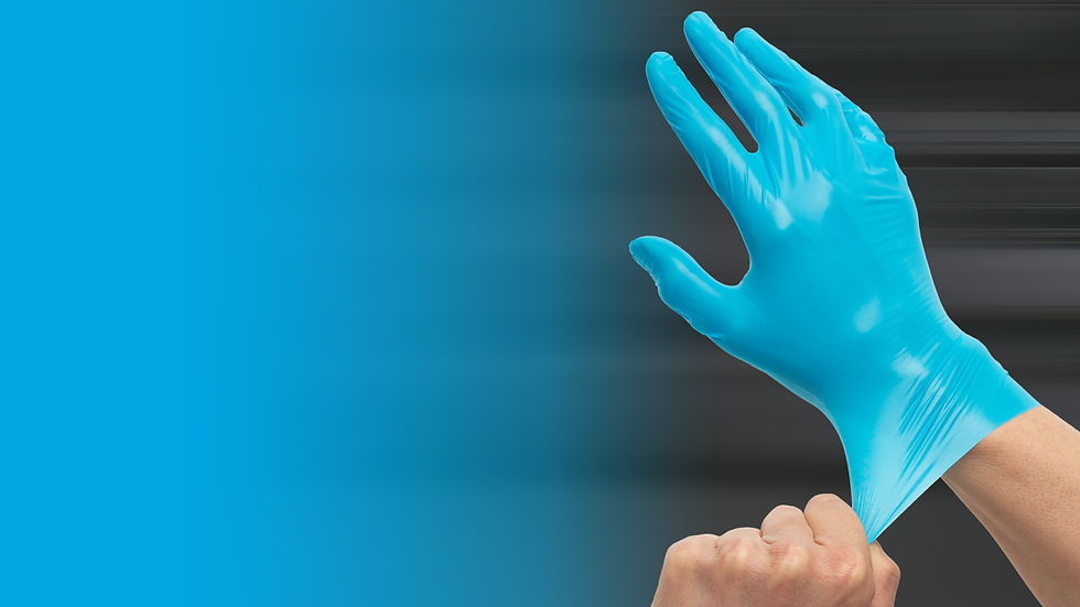 ReiKo aproTex GmbH | hygrip® TPU Hygieneschutz-Handschuh