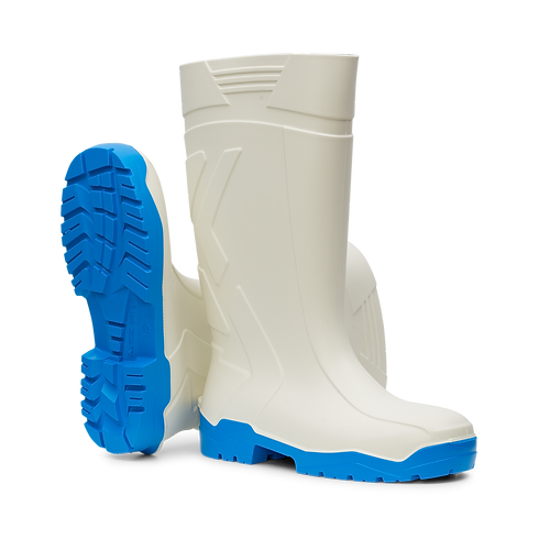 aproTex® PU-Stiefelsafety WEISS
