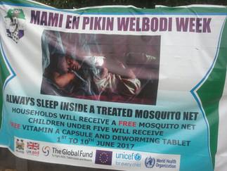 ENDING MALARIA IN MAMI EN PIKIN WELBODI WEEK