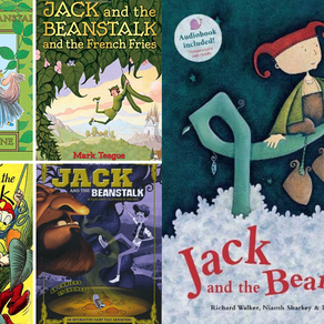 9 Jack and the Beanstalk Books to Read Today
