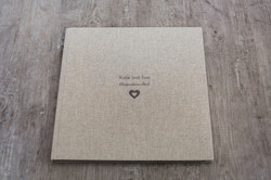 Hessian 12x12 Coffee Table Book