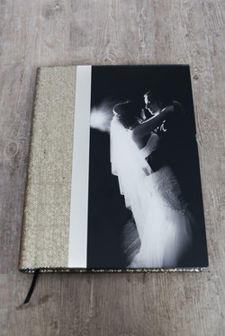 Italian 16x12 Brushed Sequin and Acrylic Cover Album