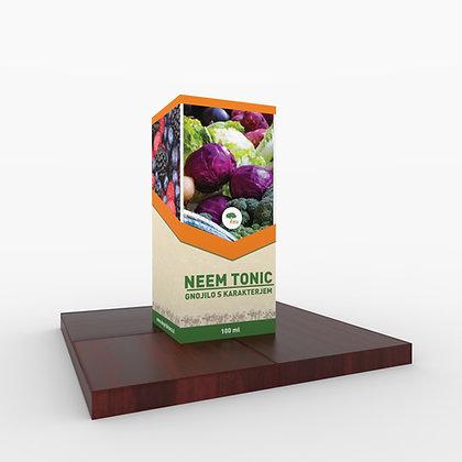NEEM tonic 100 ml - 100% naravno organsko listno gnojilo