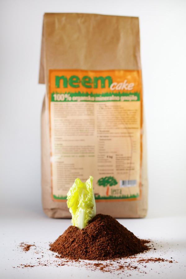Neem cake - učinkovita zaščita pred ličinko majskega hrošča