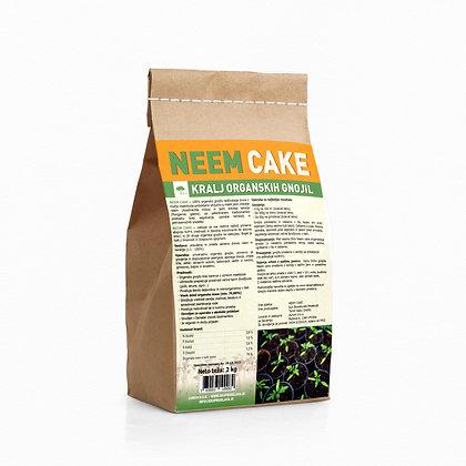 NEEM cake 2 kg - 100% naravno organsko talno gnojilo