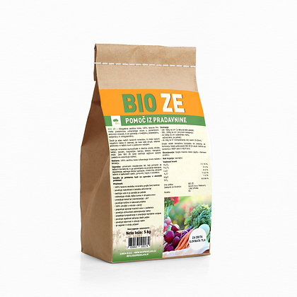 Bio-ZE 5 kg - obogatena zeolitna moka