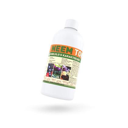 NEEM tonic 500 ml - 100% naravno organsko listno gnojilo