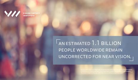 Billions Suffer From Near Vision Worldwide