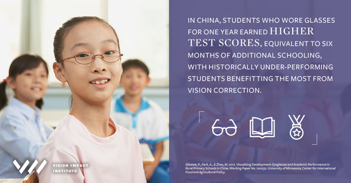 Higher Test Scores Linked To Good Vision in China