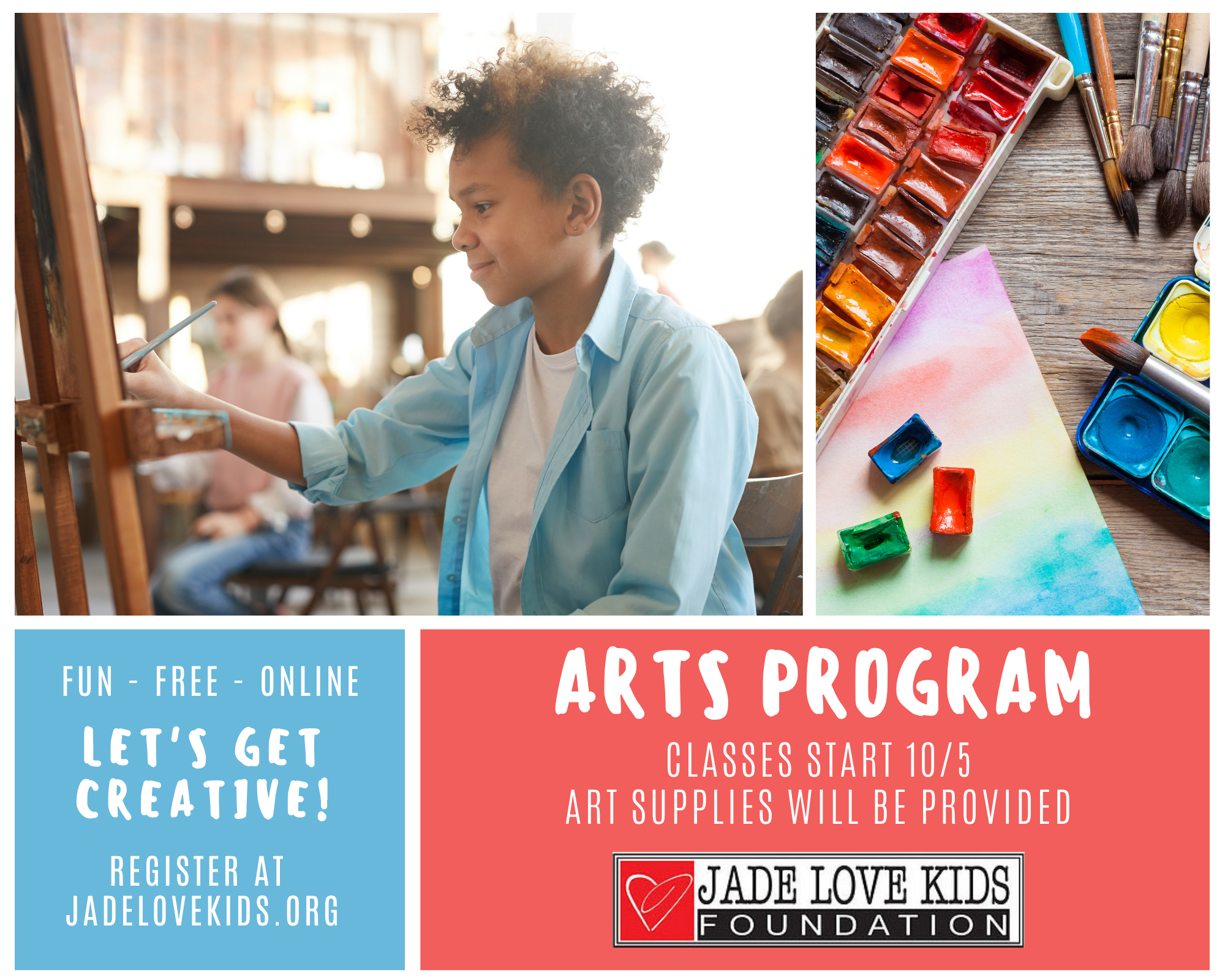 Free Online Arts Program for Kids & Teens v2