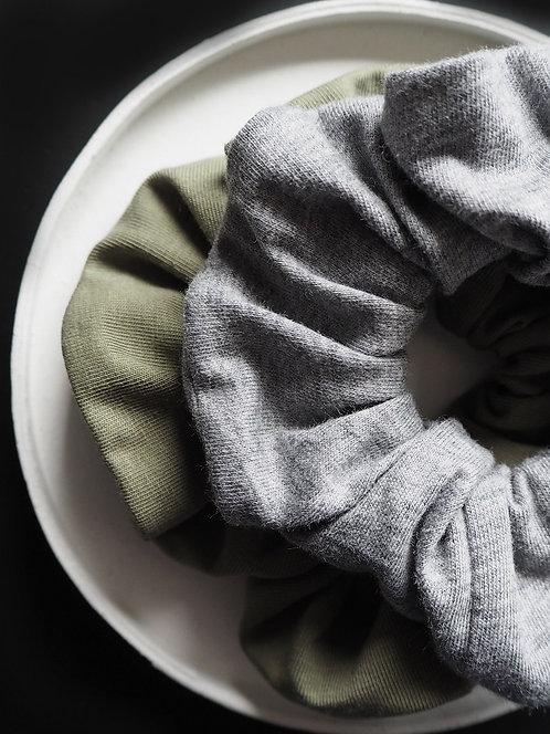 Scrunchie aus Jersey von börd shört   4 Farben