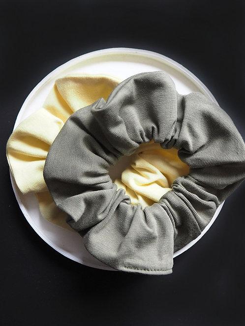 Scrunchie aus Jersey von börd shört | 2 Farben