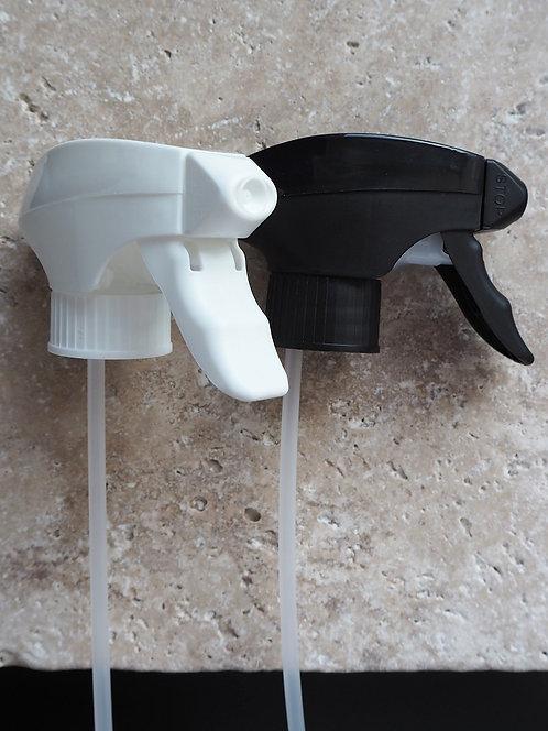 Sprühkopf schwarz oder weiß | ohne Glasflasche