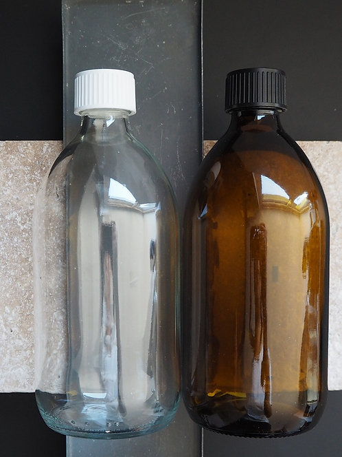 Glasflasche mit Verschluss | 500 ml
