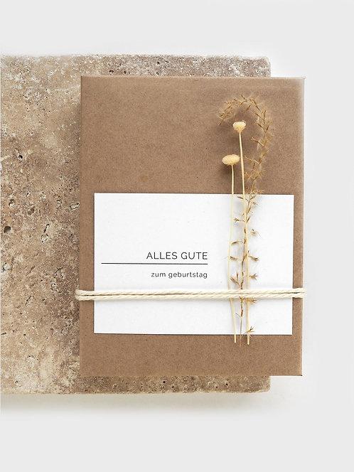 Geschenkverpackung für Abschminpads