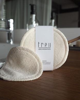 Waschbare Abschminkpads aus Biobaumwolle - made in Germany - treu fashion