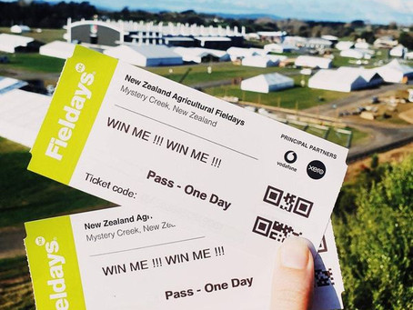 Fieldays family pass giveaway!