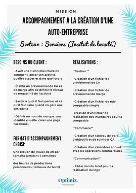 Accompagnement creation Auto-entreprise.