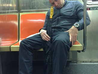The 'Knocked Out Cold' Manspread