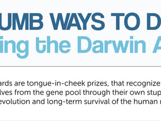Dumb Ways to Die: Exploring the Darwin Awards