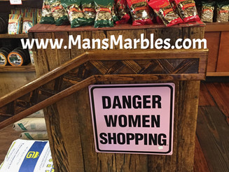 Danger: Women Shopping