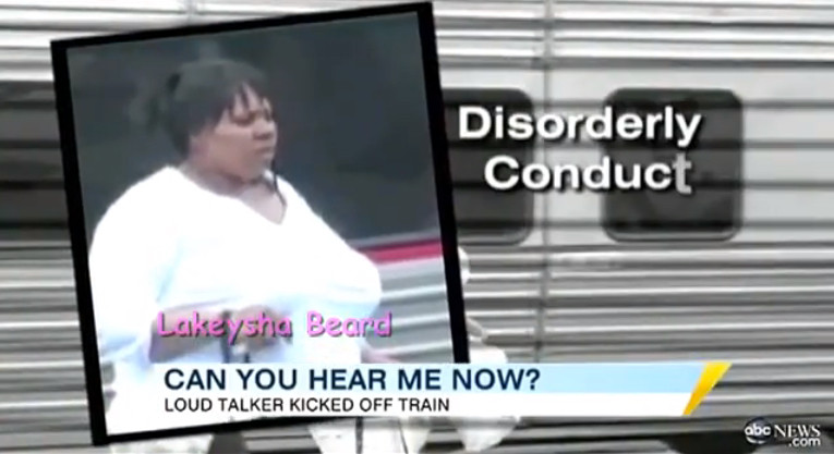 Loud Talker Lakeysha Beard kicked off train for yapping for 16 hours in quiet car