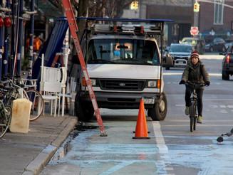 For Bikes' Sake! Blocked Bike Lanes a Big Problem in NYC