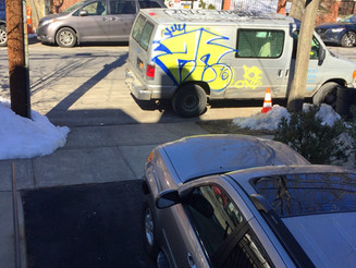 Parking Fail: Construction Van Blocks Driveway