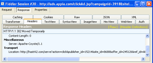 Ad2Store Screenshot 18 of what happens when a website malvertising redirects you to the AppStore