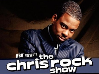 Logo for the Chris Rock Show on HBO