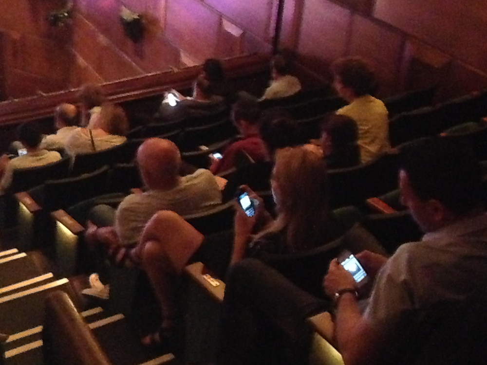 Cell phones distract audience at 92Y event