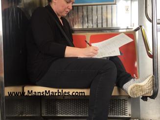 Bookworm Womanspread