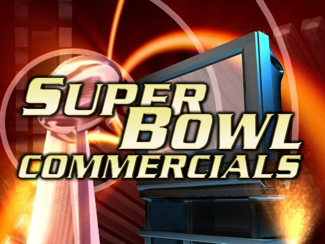 Super Bowl Commercials and ads grapgic